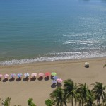 Vista aerea de nuestra playa.